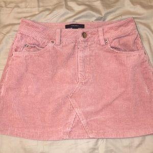 💖 Forever 21 pink corduroy skirt 👗